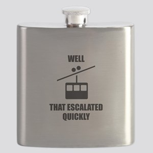 Well That Escalated Quickly Flask