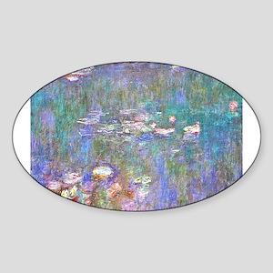 Monet:Water Lilies Sticker