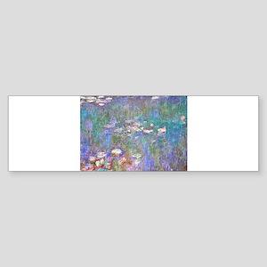 Monet:Water Lilies Bumper Sticker