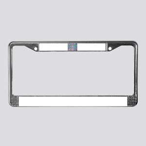 Monet:Water Lilies License Plate Frame
