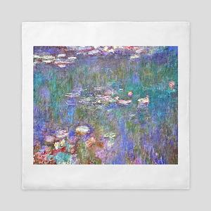 Monet:Water Lilies Queen Duvet