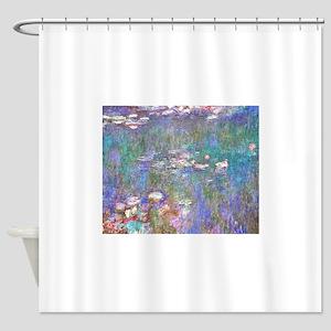 Monet:Water Lilies Shower Curtain