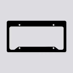 Solid Black Color License Plate Holder