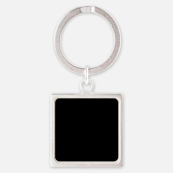 Solid Black Color Keychains