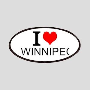 I Love Winnipeg Patches