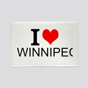 I Love Winnipeg Magnets