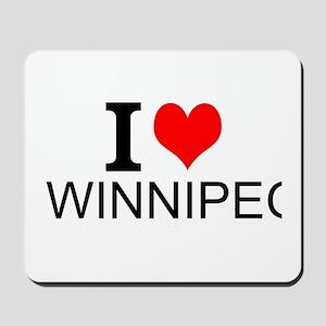 I Love Winnipeg Mousepad