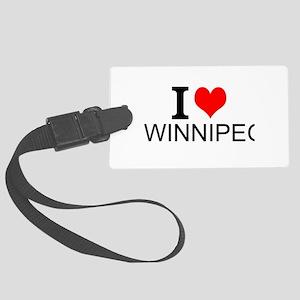 I Love Winnipeg Luggage Tag