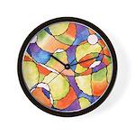 Carnival Balloons Wall Clock