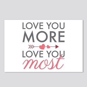 Love You Most Postcards (Package of 8)