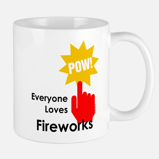 Everyone Loves Fireworks Mug