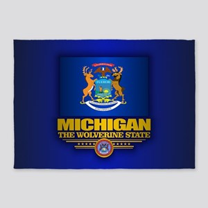 Michigan (v15) 5'x7'Area Rug
