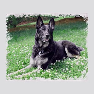 GSD Beauty Throw Blanket