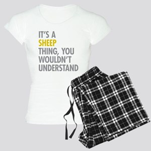 Its A Sheep Thing Women's Light Pajamas