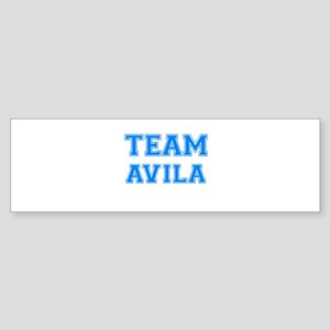 TEAM AVILA Bumper Sticker
