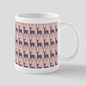 Cute Whimsy Deer Pattern Mug