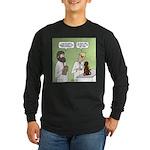 Snowman of the Apes Long Sleeve Dark T-Shirt