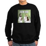 Snowman of the Apes Sweatshirt (dark)