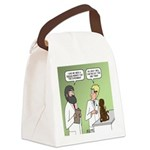 Snowman of the Apes Canvas Lunch Bag