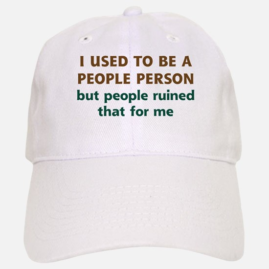 People Person Humor Baseball Baseball Cap