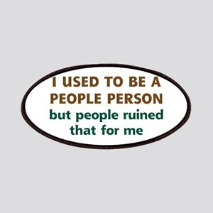 People Person Humor Patches