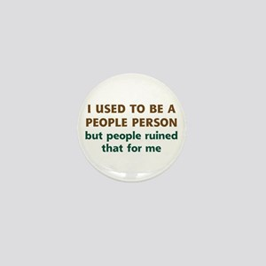 People Person Humor Mini Button
