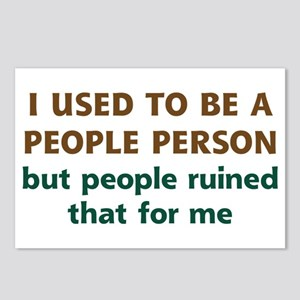People Person Humor Postcards (Package of 8)