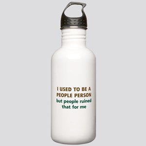People Person Humor Stainless Water Bottle 1.0L