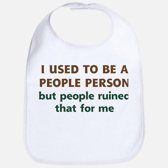 People Person Humor Bib