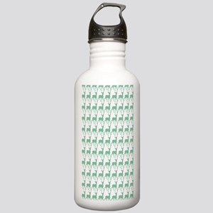 Cute Whimsy Deer Patte Stainless Water Bottle 1.0L