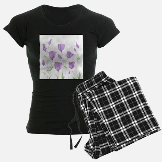 Lilac Flowers Pajamas