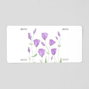 Lilac Flowers Aluminum License Plate