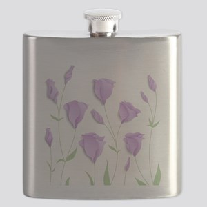 Lilac Flowers Flask
