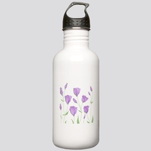 Lilac Flowers Water Bottle