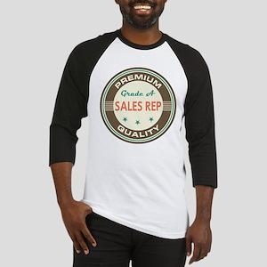 Sales Rep Vintage Baseball Jersey