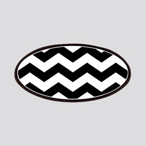 Black And White Chevron Patches