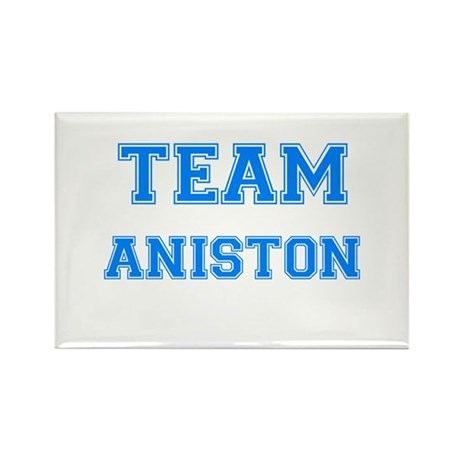 TEAM ANISTON Rectangle Magnet