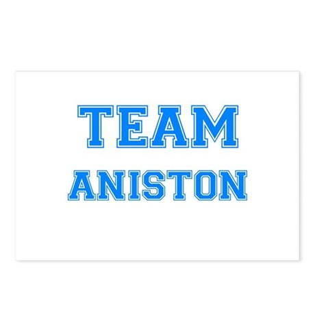 TEAM ANISTON Postcards (Package of 8)