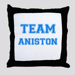 TEAM ANISTON Throw Pillow