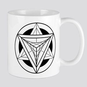 Merkabah Star Tetrahedron Mugs