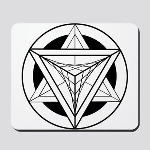 Merkabah Star Tetrahedron Mousepad
