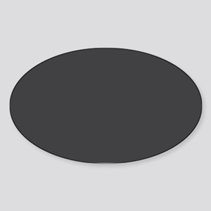 Gray Solid Color Sticker