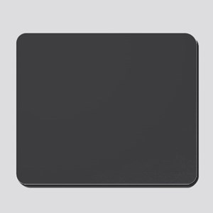 Gray Solid Color Mousepad