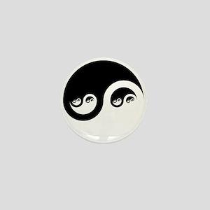Fractal YinYang Mini Button