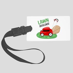 Lawn Enforcement Luggage Tag
