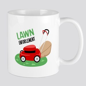 Lawn Enforcement Mugs