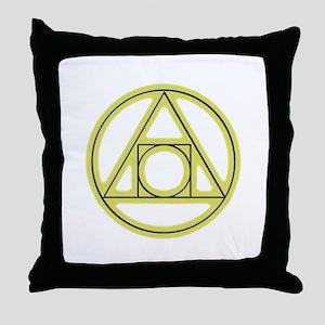 Classic Alchemy Throw Pillow
