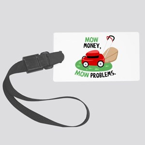 Mow Money Luggage Tag