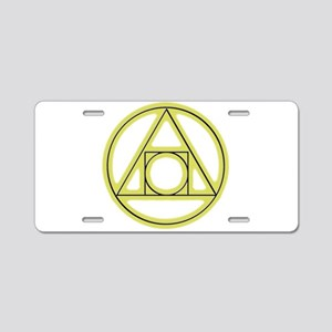Classic Alchemy Aluminum License Plate