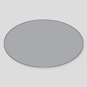Light Gray Solid Color Sticker